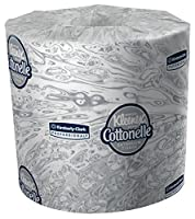 """Kimberly-Clark Professional 17713 Kleenex Cottonelle Bathroom Tissue with 60 Rolls per Case, 4.09"""" x 4"""", 172.46' (Pack of 60) by Kimberly-Clark Professional"""