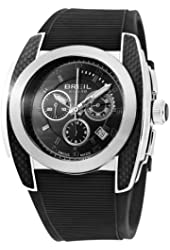 Breil Milano Men's BW0381 Mediterraneo Analog Black Dial Watch
