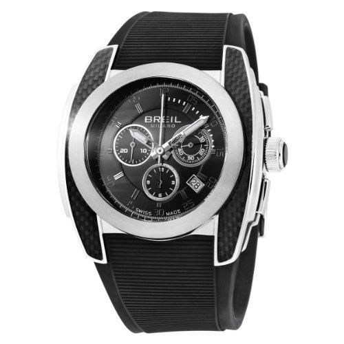 Breil BW0381 Gents Mediterraneo Chronograph Black Rubber Strap Swiss Made Watch