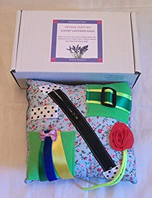The Vintage Flowers Tactile/Craft Activity Kit - Activities For Dementia