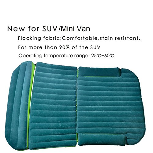 Inflatable Bed Netherlands: Heavy Duty Inflatable Car Mattress Bed For SUV Minivan