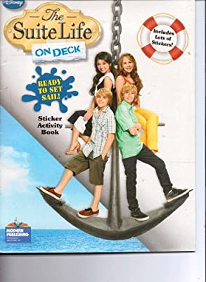 Disney Suite Life on Deck Sticker Activity Book ~ Ready to Set Sail