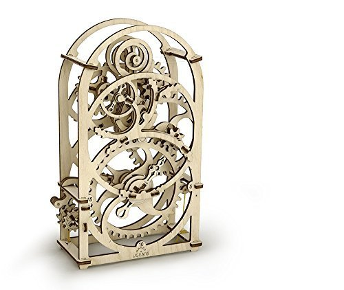 3D Holz Puzzle TIMER mechanischer Baukasten KURZZEITMESSER