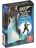 James Bond 007 Movie Poster Playing Cards