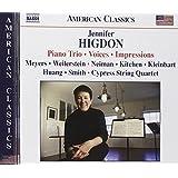Jennifer Higdon: Piano Trio; Voices; Impressions