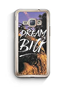 YuBingo Dream BIG Designer Mobile Case Back Cover for Samsung Galaxy J1 2016