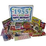 '50s Retro Candy Decade 60th Birthday Gift Box - Nostalgic Candy 1955