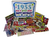 50s Retro Candy Decade 60th Birthday Gift Box - Nostalgic Candy 1955