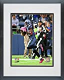Sidney Rice Seattle Seahawks - NFL Framed and Matted Photo - 2011 Action - 16x20 Photo at Amazon.com