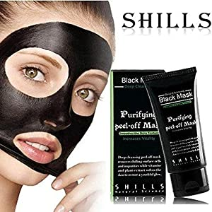 Shills Purifying Blackhead Acne Remover Peel Mud Deep Cleaning Anti Aging Facial Mask - 2 PACK