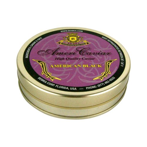 Bemka.com American Bowfin Wild Caviar, 7-Ounce Tin
