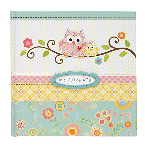 C.R. Gibson Slim Bound Journal Album for Photos, Happi Baby Girl