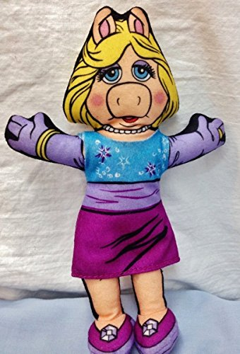 Miss Piggy Muppet Stars Blockbuster Video Doll 1998