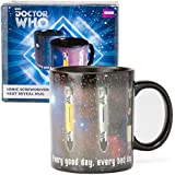 Doctor Who Mug - Sonic Screwdriver Coffee Cup - Design Changes with Heat - 12 oz