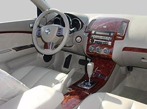 Nissan Altima 2005 2006 Interior Burl Wood Dash Trim Kit Set Automotive