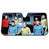 Plasticolor 003692R01 Star Trek Bridge Accordion Bubble Sunshade