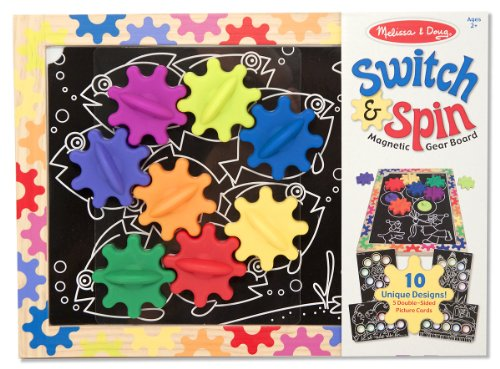 melissa-doug-switch-and-spin-magnetic-gear-board-educational-toy-with-8-gears-and-5-double-sided-des