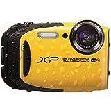 """Fujifilm FinePix XP80 - Videocámara deportiva (16.4 Mp, pantalla de 2.7"""", zoom óptico 5x), amarillo"""