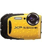 Fujifilm XP80 Appareil Compact Tout-Terrain 16Mp (BSI-CMOS) Zoom 5x (28-140mm)  WiFi Contrôle à Distance Jaune