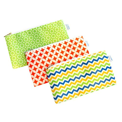 Cloth Snack Bags - Set of 3 - Yummi Pouch (Spunky)
