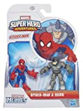 Playskool Marvel Super Heroes Figure Spider-Man and Rhino (Pack of 2)