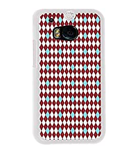 ifasho Designer Phone Back Case Cover HTC One M8 :: HTC M8 :: HTC One M8 Eye :: HTC One M8 Dual Sim :: HTC One M8s ( Colorful Biscuit Colorful Pattern Design )