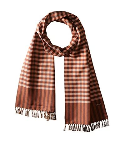 Tom Ford Men's Checked Scarf, Brown