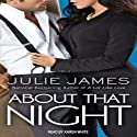 About that Night: FBI-US Attorney Series, Book 3