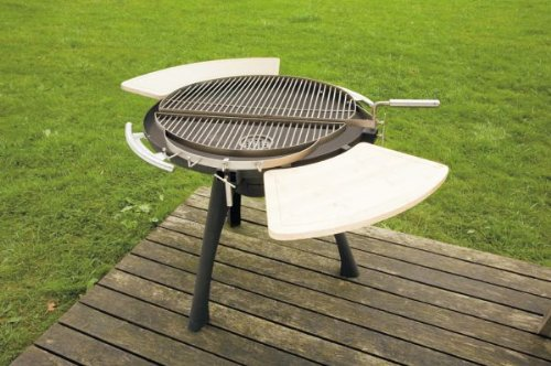 31.5 in Dia. x 46.5 in H Grilltech Space 800 Charcoal BBQ Grill 31.5 in Dia. x 46.5 in H Grilltech