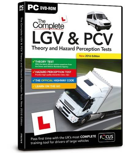 The Complete LGV & PCV Theory and Hazard Perception Tests (Dts)