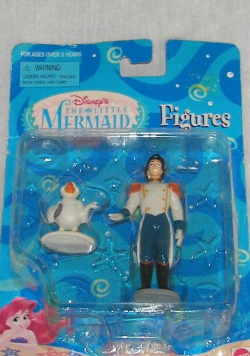 Picture of Mattel Disney The Little Mermaid Eric & Scuttle Figures (B000R01T76) (Mattel Action Figures)