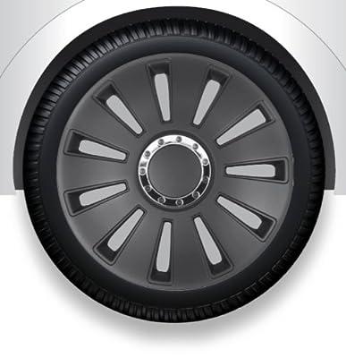 Radkappen/Radzierblenden 17 Zoll SILVERSTONE PRO black von octimex - Reifen Onlineshop