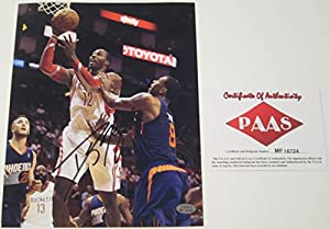 Dwight Howard Houston Rockets Signed Autographed Photo Authentic Certified Coa