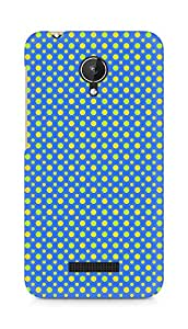 Amez designer printed 3d premium high quality back case cover for Micromax Canvas Spark Q380 (Geometric Bright Pattern8)