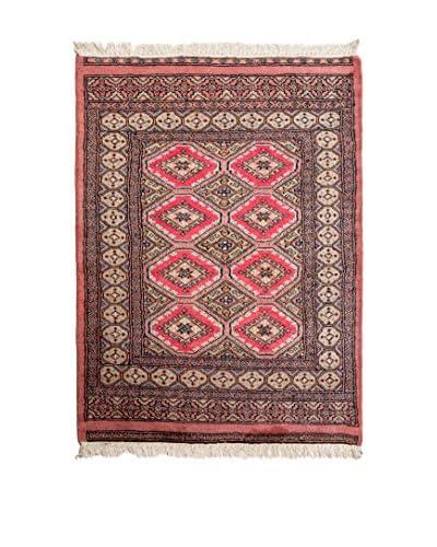 Navaei & Co. Teppich Kashmir rot/mehrfarbig 111 x 80 cm