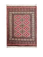 Navaei & Co. Alfombra Kashmir Rojo/Multicolor 111 x 80 cm