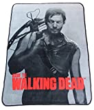 The Walking Dead Daryl Dixon Soft Fleece Throw Blanket 46