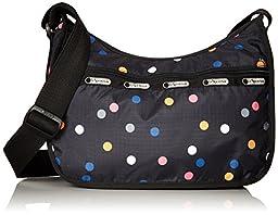 LeSportsac Classic Hobo Handbag, Litho Dot, One Size