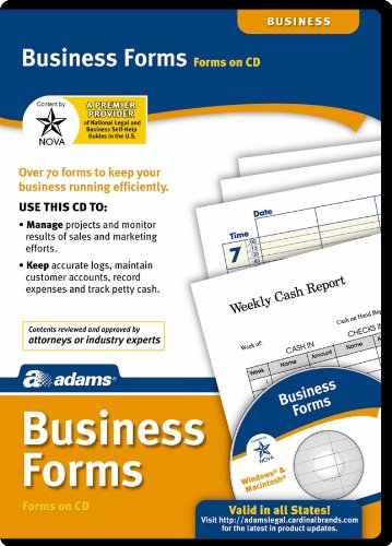 Adams Business Forms Software, White (SW2223)