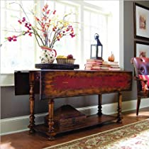 Big Sale Hooker Furniture Vicenza Drop Leaf Console Table