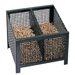 hark pelletkorb brennkorb pelletofen kaminofen pellets eckig baumarkt. Black Bedroom Furniture Sets. Home Design Ideas