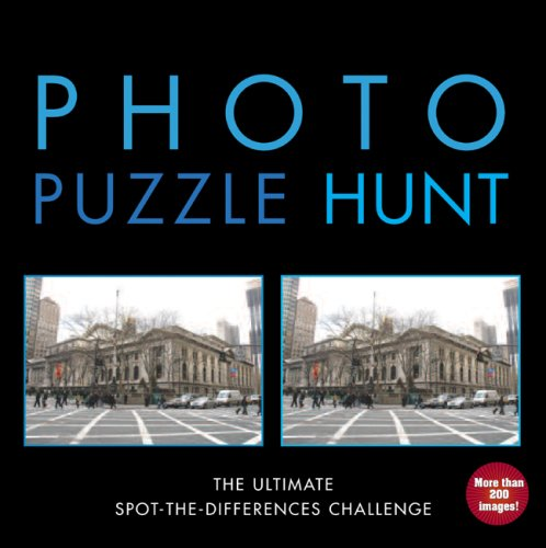Photo Puzzle Hunt: The Ultimate Spot-the-Differences Challenge, Christine Reguigne