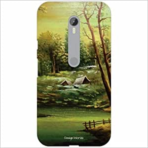 Design Worlds - Moto G Turbo Designer Back Cover Case - Multicolor Phone Cover