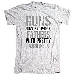 Fathers With Pretty Daughters Kill People American Apparel T-Shirt