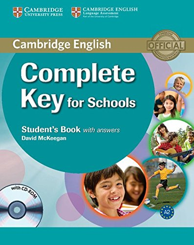 Complete Key for Schools Student's Book with Answers with CD-ROM