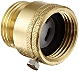 "Apollo 38314AS Brass Hose Connection Vacuum Breaker, 3/4"" Hose ID"