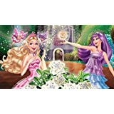 Movie Barbie The Princess & The Popstar ON FINE ART PAPER HD QUALITY WALLPAPER POSTER