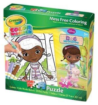 Cardinal Industries Doc McStuffins Color Wonder Jigsaw Puzzle, 24-Piece