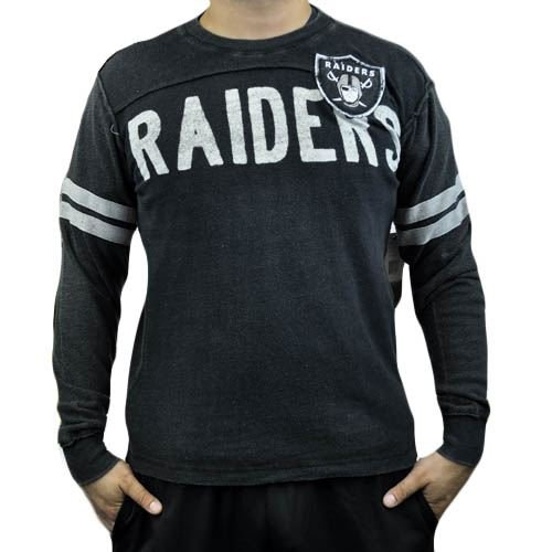 NFL Oakland Raiders Rave Cotton Long Sleeve Premium Shirt Sweatshirt Small SM at Amazon.com