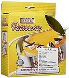 KAISER Tortenring mit Griffen ø 16,5 x 32 cm 7 cm Pâtisserie individuelle Größeneinstellung spühlmaschinenfest hohe Formstabilität